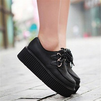 Black Loafer Creeper Shoes