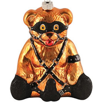BONDAGE BEAR ORNAMENT