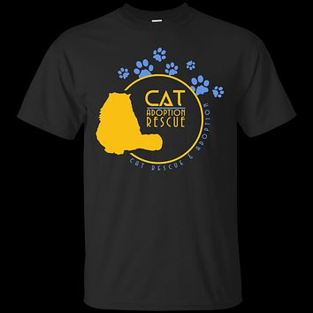 Cat Lovers Gift, Cat Rescue T-Shirt, Perfect Gift For Cat Rescuers, Cat lovers, and Cat Owners
