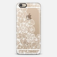 My white garden iPhone 6 case by Julia Grifol Diseñadora Modas-grafica | Casetify