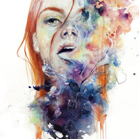 this thing called art is really dangerous Art Print by agnes-cecile | Society6