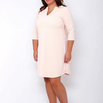 Evalynn Curve Shift Dress