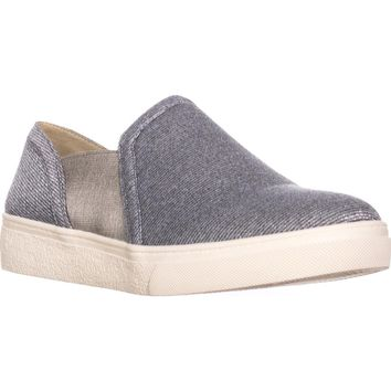 Bandolino Hoshi Flat Slip-On Fashion Sneakers, Grey Multi, 9 US