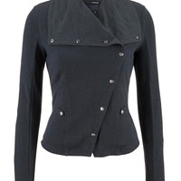Button Front Jacket With
