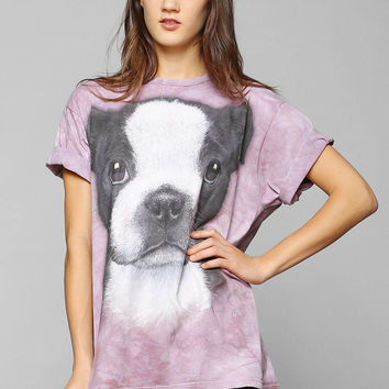 The Mountain Boston Terrier Tee - Urban Outfitters