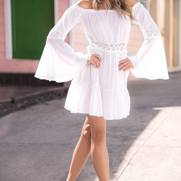 White Party Must Have White Summer Dress-Resort Wear