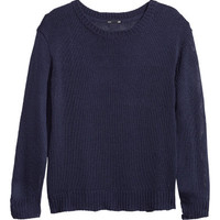 Loose-knit jumper - from H&M