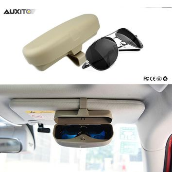 Car Styling Sunglasses Holder For Renault Megane 2 3 Duster Logan Clio 4 3 Laguna 2 Sandero Scenic Captur Fluence Kangoo Armrest
