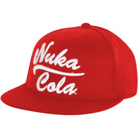 Fallout Men's  Nuka Cola Baseball Cap Red Rockabilia
