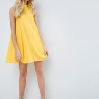 ASOS Swing Sundress with Neck Tie & Open Back at asos.com