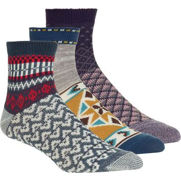 Paradise Cove Ankle Sock - 3-Pack - Women's