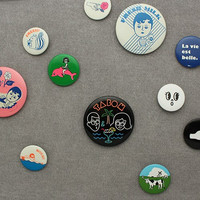 PIN BUTTON SET 4Á¾  - Other Fashion Acc
