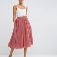 ASOS Tulle Prom Skirt with Multi Layers at asos.com