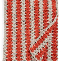 Nordstrom at Home 'Crochet Stripe' Throw