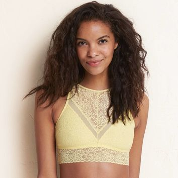 04150e299f8 Aerie Hi-Neck Bralette from American Eagle Outfitters
