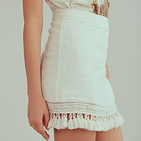 Free People Hot Trot Mini Skirt