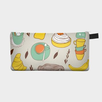 Breakfast Pencil Case Pouch