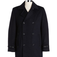 Hart Schaffner Marx Double-Breasted Coat