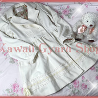 Liz Lisa Ribbon Trim Fleece Winter Coat from Kawaii Gyaru Shop