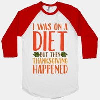 I Was on a Diet and Then Thanksgiving Happened