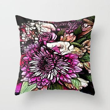 :: Spring Forward :: Throw Pillow by :: GaleStorm Artworks ::