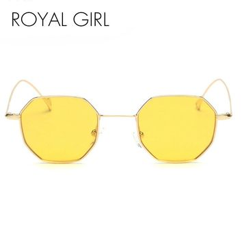 Royal Girl new designer Sunglasses retro square tinted