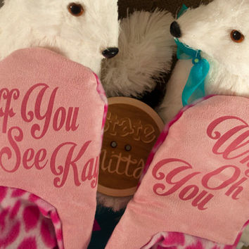 State Mitts -MATURE Eff You See Kay Why Oh You - Whimsically Fun Mittens - Stick 'em up and make a Statement, Keep your fingers