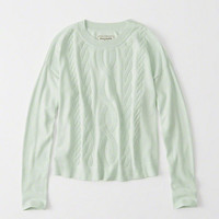 Womens Cable Sweater | Womens Clearance | Abercrombie.com