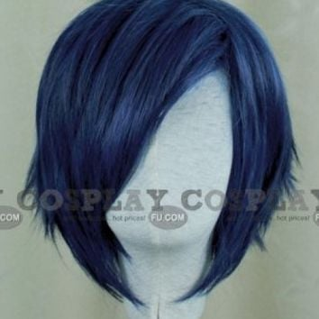 Blue Wig (Short,Spike,SPKaito) - Tailor-Made Cosplay Costume