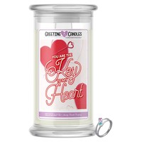 You Are The Key To My Heart! | Jewelry Greeting Candle