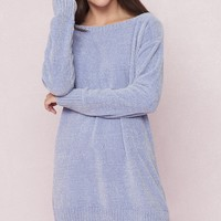 Slouchy Chenille Dress