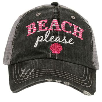 """Beach Please"" Trucker Hat"