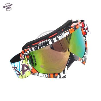 Motocross Goggles Glasses Bicycles Oculos Cycling MX Off Road Helmet Ski Sport Gafas for Motorcycle Dirt Bike