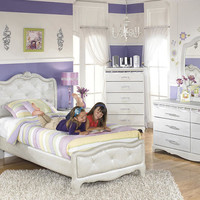 Rose Marie Twin Size Upholstered Bed