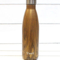 S'well Bottle: Teakwood Wood Collection {17 oz}