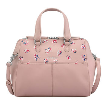 Woodstock Ditsy Henshall Leather Bag | Occasion Bags | CathKidston