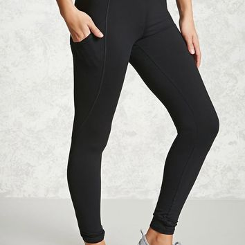 Active Contrast Panel Leggings