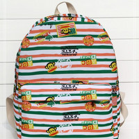 Striped Stripes Backpack = 4887637700