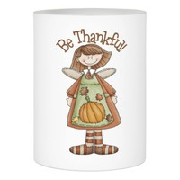 Thanksgiving LED Candle/Be Thankful Flameless Candle