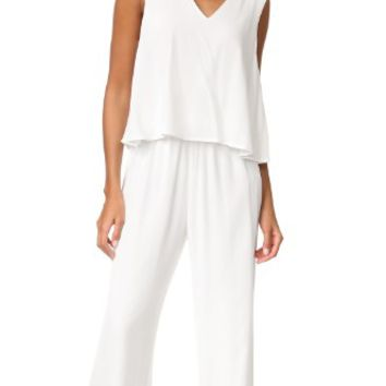 Goddess Tiered Top Jumpsuit