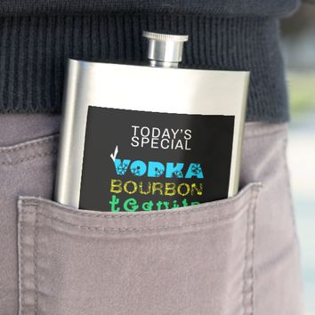 Classic Drinks Choice Vodka funny Hip Flask