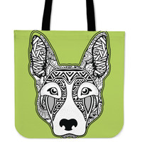 Zentangle Dog - Tote Bag