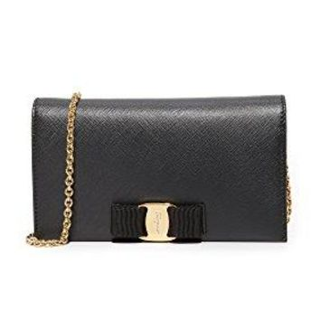 Salvatore Ferragamo Women's Miss Vara Wallet On a Chain