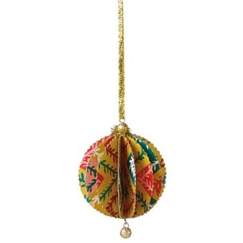 """17"""" Colorful Green Regal Peacock Bird with Open Tail Feathers Christmas Decoration"""