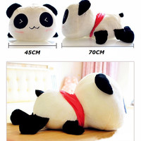 Stuffed Plush Doll Toy Animal Giant 70CM Cute Panda Pillow Bolster Gift New