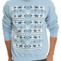 Disney Frozen Olaf Holiday Crewneck Sweatshirt