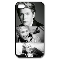 CTSLR Music & Singer Series Protective Hard Case Cover for iPhone 4 & 4S - 1 Pack - One Direction - Niall Horan 15