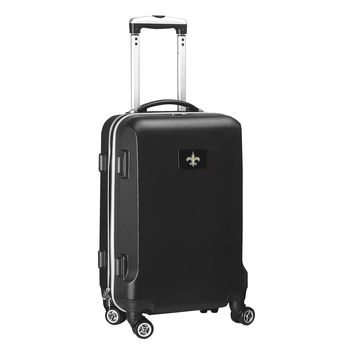 New Orleans Saints Luggage Carry-On  21in Hardcase Spinner 100% ABS
