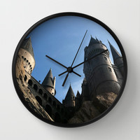 Hogwarts Wall Clock by Madeline Newcomb