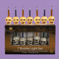 7 Halloween Lights - Bubble